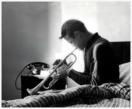Chet Baker in Siena by Jim Marshall