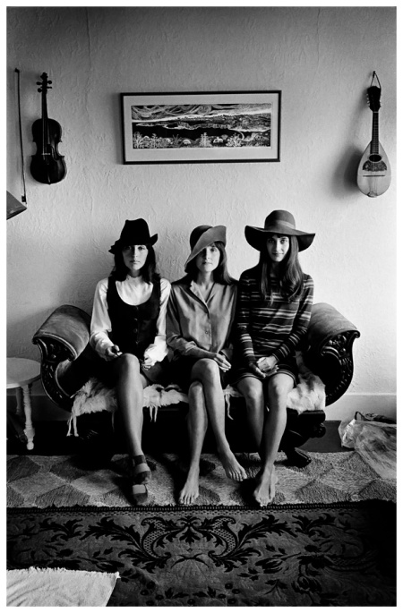 Joan Baez and sisters, San Francisco, 1968 by Jim Marshall