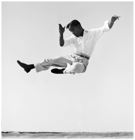 Sammy Davis Jr. Side kick Photo Phil Stern mid 1950's