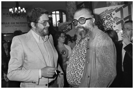 Italian movies makers, Ettore Scola (L)