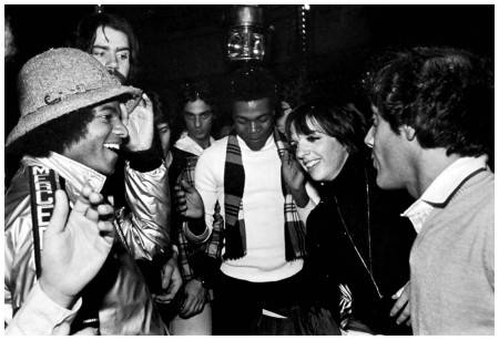 Michael Jackson and Liza Minnelli at Studio 54 (Jay Good)