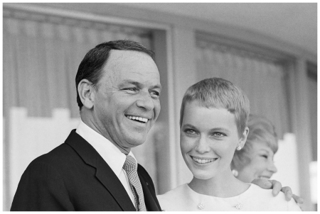 Mr. and Mrs. Frank Sinatra exchange fond glances following their wedding on July 19, 1966, at the Sands Hotel in Las Vegas Paradise, Las Vegas, Nevada, USA Bettman Corbis