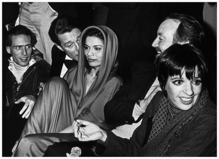 Ron Galella Halston, Bianca Jagger and Liza Minelli, Studio 54, New York, January 1978