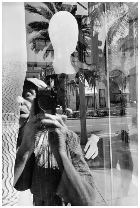 Lee Friedlander Self-Portait