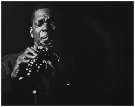John Coltrane, The Village Gate, New York, NY 1961 Herb Snitzer b