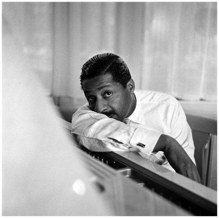 1957, jazz pianist Errol Garner Phot Paul Huf