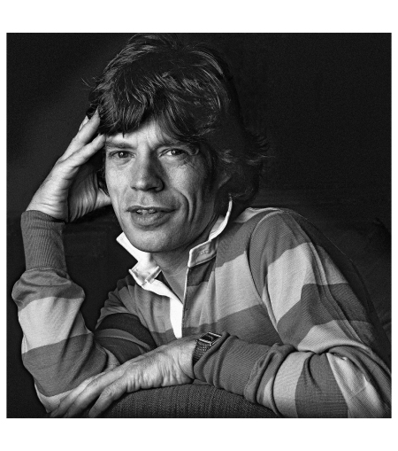 Mick Jagger, Savoy Hotel, London, 1990 - Photo Clive Arrowsmith