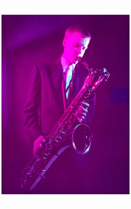 Gerry Mulligan Jazz Essay '54 Photo Eliot Elisofon b