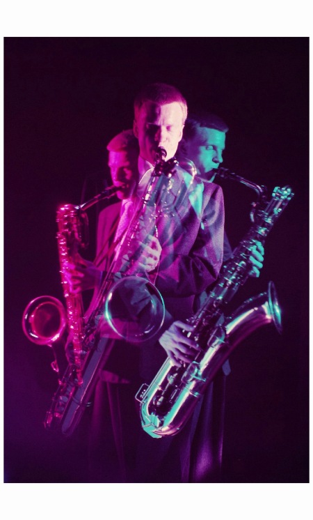 Gerry Mulligan Jazz Essay '54 Photo Eliot Elisofon