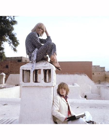 Cecil Beaton, Brian Jones and Anita Pallenberg, Morocco, 1960s