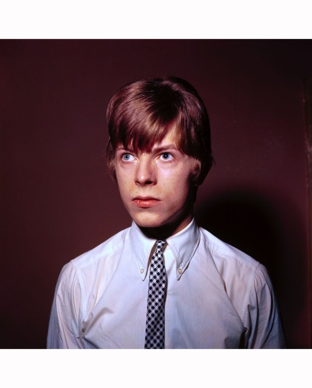 David Bowie is seen c. 1965 David Redfern